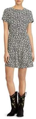 Polo Ralph Lauren Short Sleeve Floral Dress