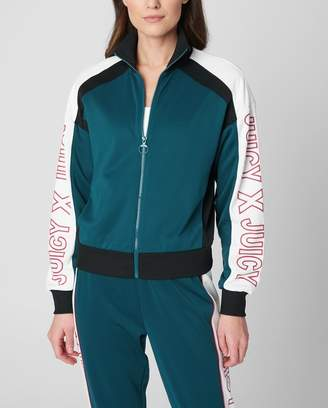 Juicy Couture JXJC Colorblock Interlock Track Jacket