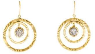 David Yurman 18K Diamond Mobile Earrings