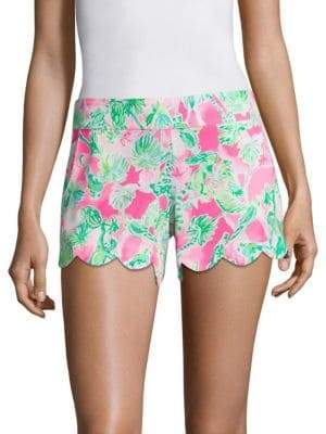 Lilly Pulitzer Dahlia Palm Tree Shorts