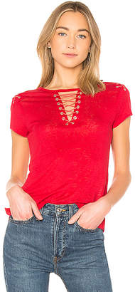 Generation Love Hugo Lace Up Top