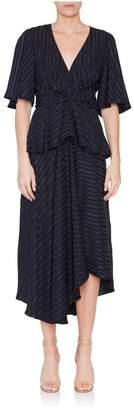 A.L.C. Avi Short Sleeve Peplum Dress