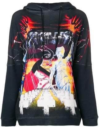 R 13 printed sweatshirt