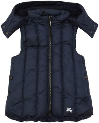 Burberry Hooded Nylon Vest