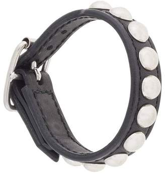 Blackmeans Black Means studded bracelet