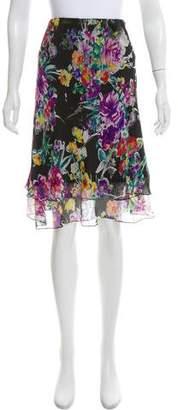 Lauren Ralph Lauren Silk Knee-Length Skirt