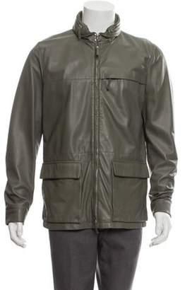 Armani Collezioni Leather Field Jacket Leather Field Jacket