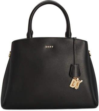 DKNY Paige Leather Large Satchel