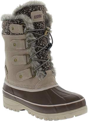 Khombu Women's Bungee Closure Winter Boots - Northstar