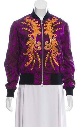 Dries Van Noten Embroidered Bomber Jacket