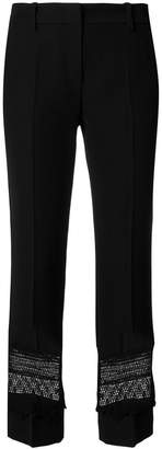 Marc Cain laced hem trousers