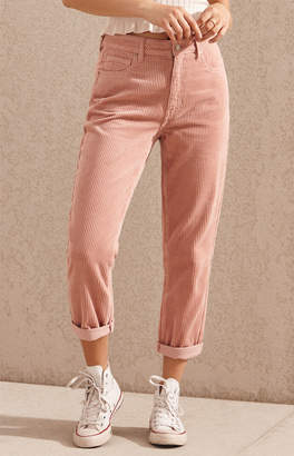 PacSun Hibiscus Corduroy Mom Jeans