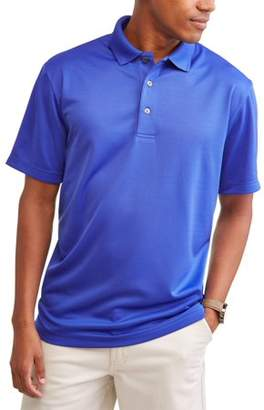 Hogan Ben Men's and Big Mens Performance Short Sleeve Solid Polo shirt, up to size 5XL