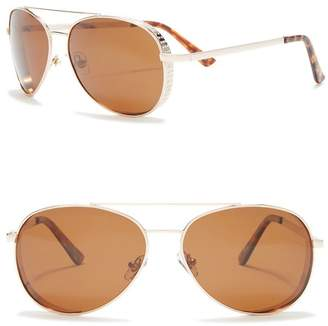 Joe's Jeans 54mm Aviator Sunglasses