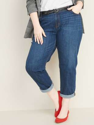 Old Navy Mid-Rise Boyfriend Straight Plus-Size Jeans