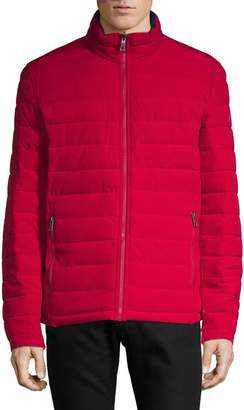 Nautica Reversible Stretch Puffer Jacket