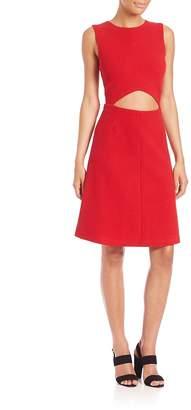 Suno Women's Cutout A-Line Dress