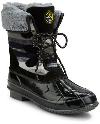 Khombu Jilly Faux Fur-Lined Snow Boots $119 thestylecure.com