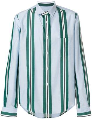 Golden Goose striped fitted shirt