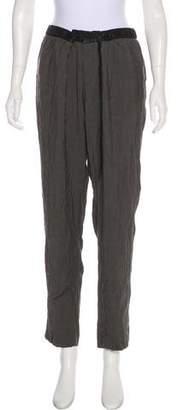 Helmut Lang Casual Mid-Rise Pants