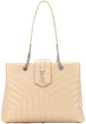 Saint Laurent Large Loulou leather shopper