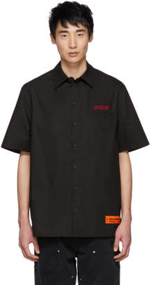 Heron Preston Black Style Short Sleeve Shirt
