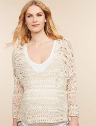 Jessica Simpson Motherhood Maternity Relaxed Fit Maternity Top