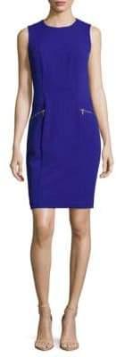 Calvin Klein Crewneck Sheath Dress