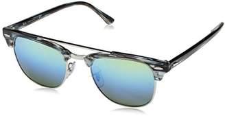 Ray-Ban Unisex Clubmaster Doublebridge 1239I2 Sunglasses
