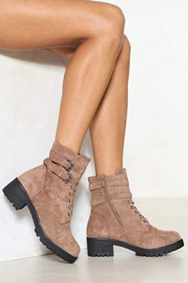 Nasty Gal Hit the Road Vegan Suede Boot