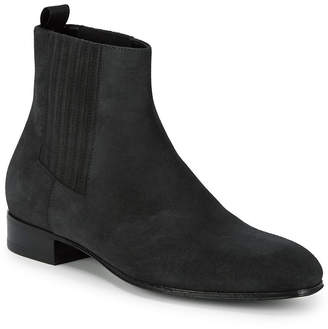 Balenciaga Gilt Edit Leather Chelsea Boot