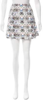 Theyskens' Theory Printed Mini Skirt