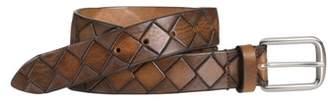 Johnston & Murphy Basket Weave Belt