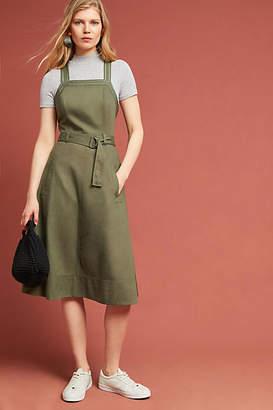 Maeve Chino Apron Midi Dress