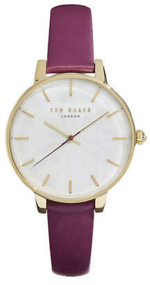 Ted Baker Stainless Steel Multi Flower Strap Watch