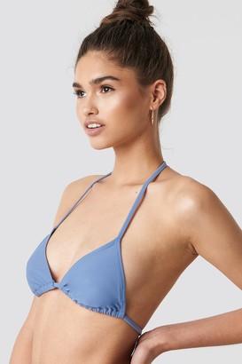 Na Kd Swimwear Triangle Bikini Top Light Pink