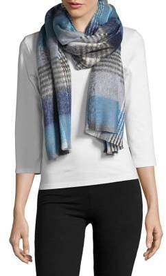 Lord & Taylor Check Plaid Scarf