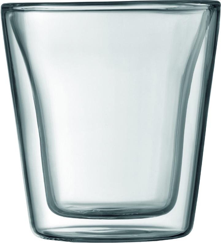 Bodum Canteen 3oz Glass Set Of 2