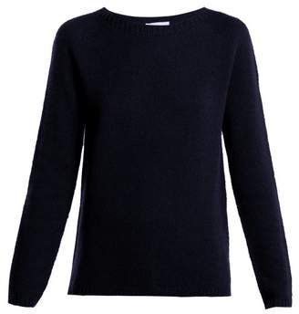 Max Mara S Relaxed Fit Cashmere Sweater - Womens - Navy