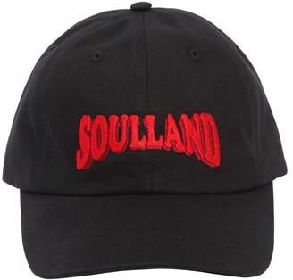 Soulland Logo Embroidered Dad Hat