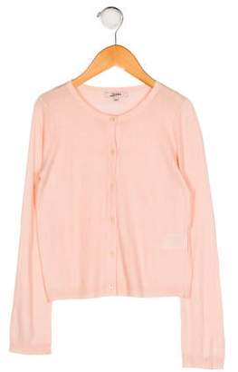 Jean Paul Gaultier Girls' Knit Button-Up Cardigan