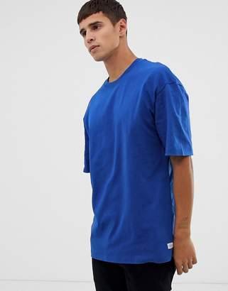 Jack and Jones Originals oversized t-shirt in cobalt blue