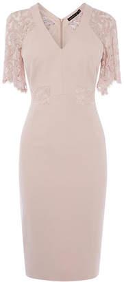 Karen Millen Lace Sleeve Dress
