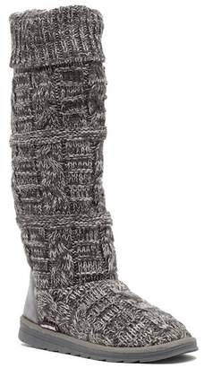 Muk Luks Shelly Knit Tall Boot