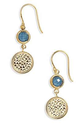 Anna Beck Designs 18k Gold-Plated Double Drop Earrings