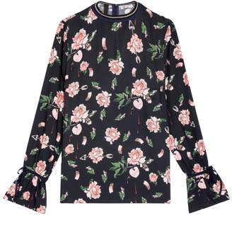 Mother of Pearl Madeline Floral Top