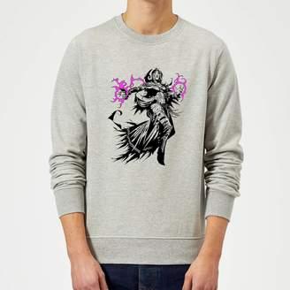 Liliana Magic The Gathering Character Art Sweatshirt