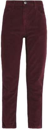 Current/Elliott The Fling Corduroy Slim-Leg Pants