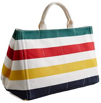 HBC HUDSON'S BAY COMPANY Luxury Canvas Tote Bag