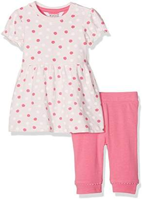 Kanz Baby Girls' Kleid 1/4 Arm + Leggings Clothing Set,0-3 Months